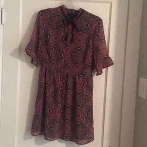 A line/skater dress
